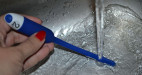 Vibrační dilatátor Ocean Vibe, omývání pod tekoucí vodou