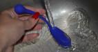 Vibrační vajíčko pro elektrosex Midnight Dream, omývání pod tekoucí vodou