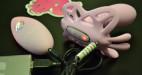 Vibrační motýlek Darling, nabíjení z powerbanky
