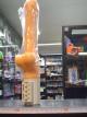 Vibrátor gelový rotační s varlaty 26 cm