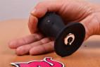 Vibrační anální kolík Smooth Fantasy, na stole