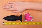 Vibrační anální kolík Smooth Fantasy, velká velikost