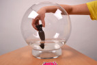 Vibrační anální kolík Smooth Fantasy, akvárium