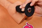 Vibrační anální kolík Smooth Fantasy, použití