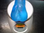 Vagína gelová modrá 13*6 cm