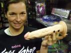 Vibrátor tělový s přísavkou 22 cm