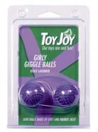 """Kuličky měkké \""""ježek\"""" fialové"""