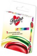 Pepino Colour barevné - 3ks kondomy