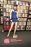Sexy kostým Modrá policistka