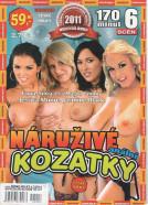 DVD Náruživé kozatky - obal.