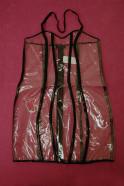 Průsvitné PVC šaty