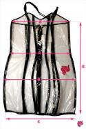 Průsvitné šaty - rozměry