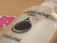 Natural lubrikační gel