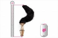 Anální kolík Cat Tail - plechovka