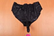 LateX kalhotky s dildem Glossy – focení v prodejně Růžový Slon Havířov