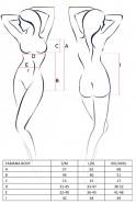Červené Body Fabien, rozměry