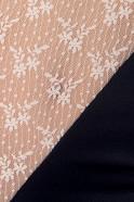 Krajkovaná košilka Midnight Passion, detail krajky