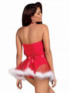 Obssesive šaty Santastic