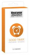 Secura Good Timer – Tlumivé kondomy (12 kusů)
