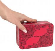 Secura Transparent Red Box – Klasické kondomy v boxu (50 ks)
