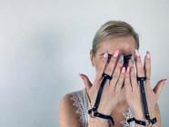 Náramek s prstýnkem Bijoux Indiscrets MAZE Together, Verča