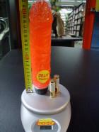 Vibrátor  gelový červený 22*4.5 cm