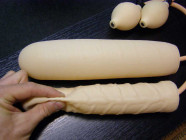 Dildo nafukovací 25 x 3-6 cm