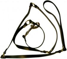 Kožené vodítko Tie (118 cm)