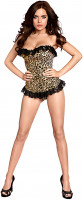 Leopardí korzet Cheetah + tanga