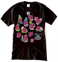 Pánské tričko 13 slonů