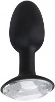 Anální kolík Black Diamond + dárek dezinfekce Toycleaner 75 ml