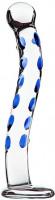Dildo skleněné GlassWork Bow | Oblouk (22,7 cm)