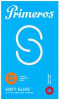 Primeros Soft Glide – extra lubrikované kondomy (12 ks)
