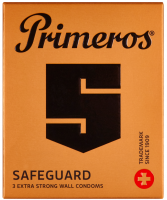 Primeros Safeguard – zesílené kondomy (3 ks)