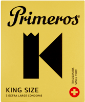 Primeros King Size – XL kondomy (3 ks)