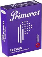 Primeros Passion – vroubkované kondomy (3 ks)