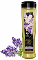 Shunga Sensation masážní olej levandule (240 ml)