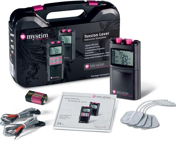 MyStim Digital zdroj pro elektrosex + dárek EEG gel 500 ml