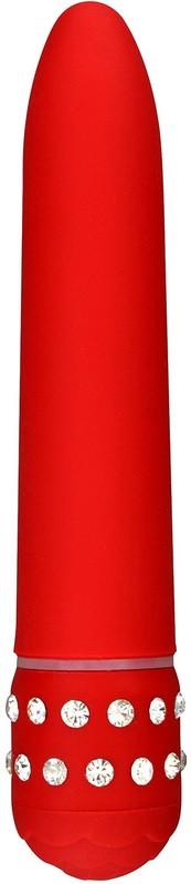 Plastový vibrátor Red Diamond