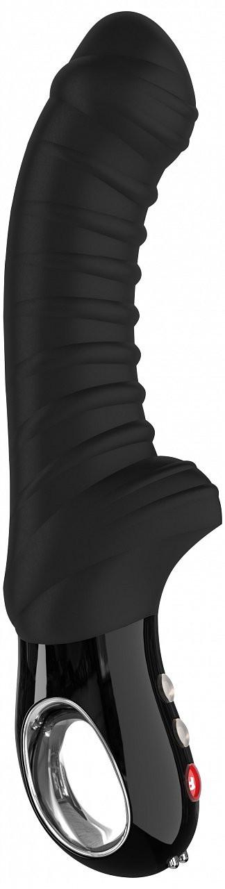 Fun Factory Tiger silikonový vibrátor, černý