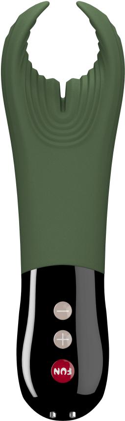 Fun Factory Manta pánský vibrátor, zelená