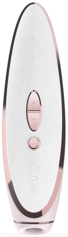 Satisfyer Luxury Prêt-à-porter podtlakový vibrátor, růžový